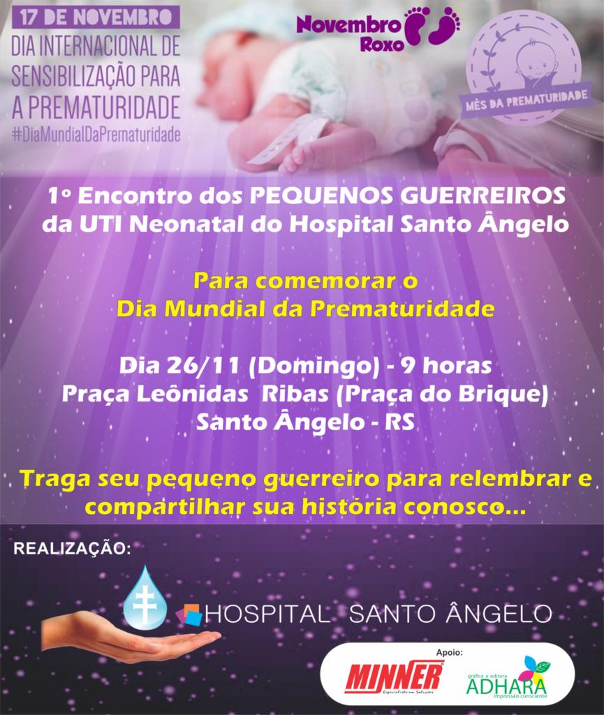 convite prematuridade