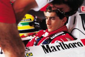 Data da foto: 03/1989 Ayrton Senna, da McLaren, durante treino do GP do Brasil de F1, no Autódromo de Jacarepaguá. (Foto: Cláudio Laranjeira)
